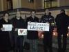 Ukrainos palaikymo akcija Marijampolėje