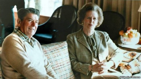 Reiganas ir Tetcher
